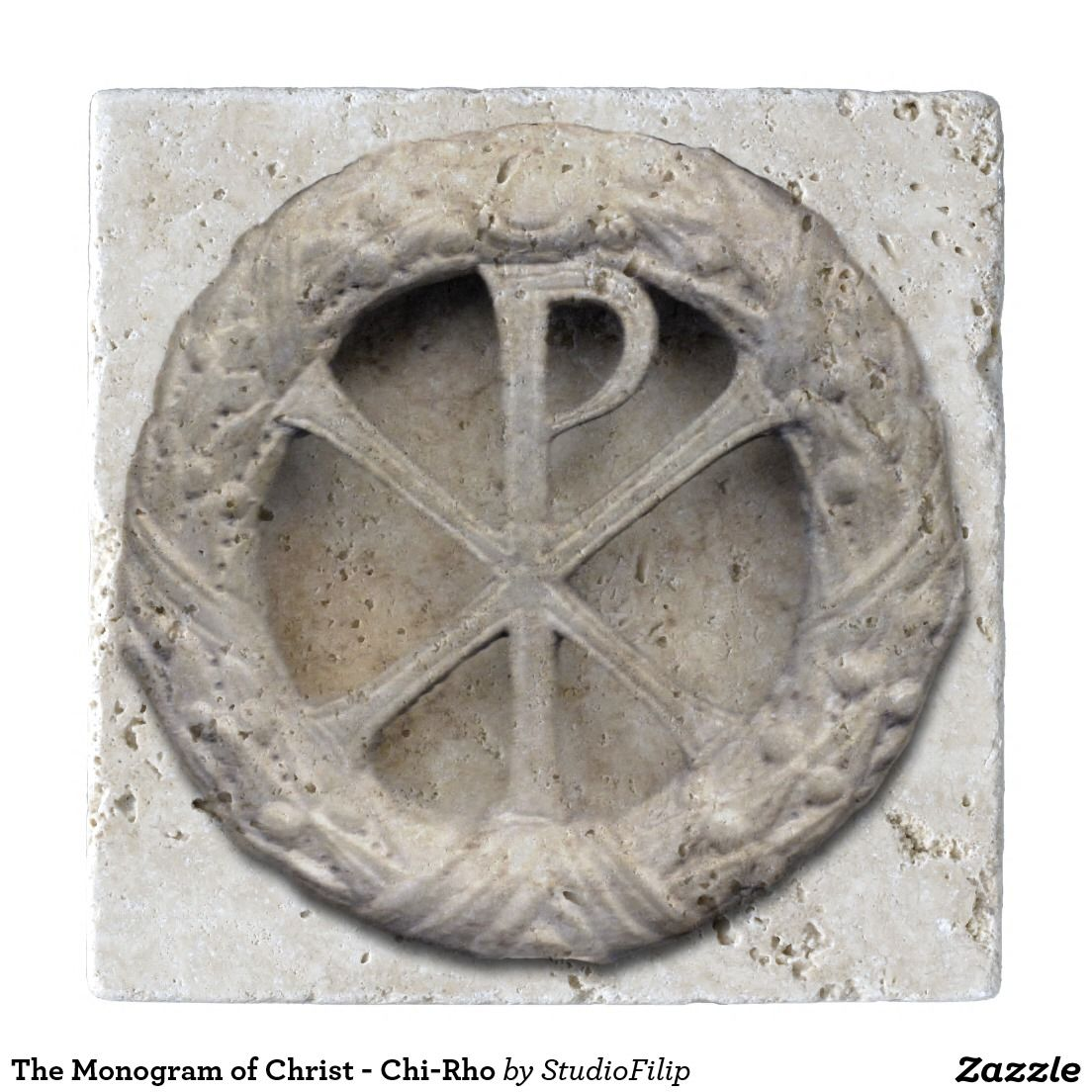 The monogram of christ chi rho trivet chi rho the monogram of christ chi rho trivets to save big on your purchase buycottarizona Images