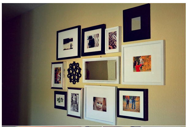 Thrift Frame Mash Ups Photo Collection Http Frugalfaye Com 2012 07 13 10 Ideas For Easy Creative Wall Target Wall Decor Foyer Wall Decor Outdoor Wall Decor