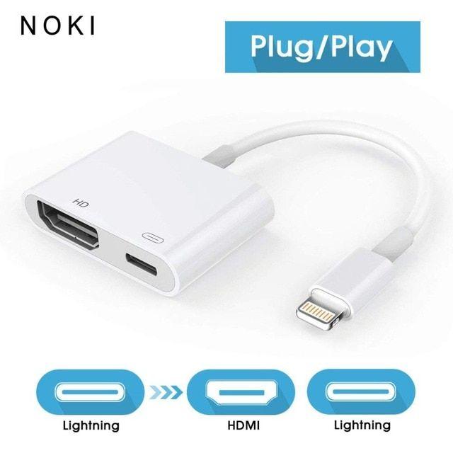 1080p Adapter For Lightning To Hdmi Digital Av