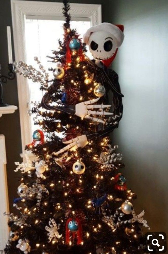 Christmas Nightmare before christmas tree, Nightmare