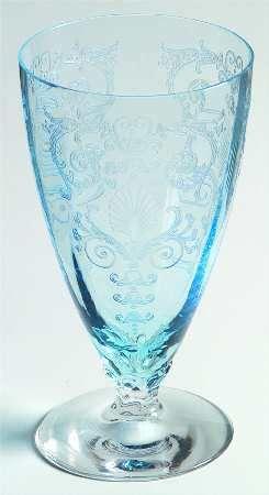 Fostoria Blue Versailles Iced Tea