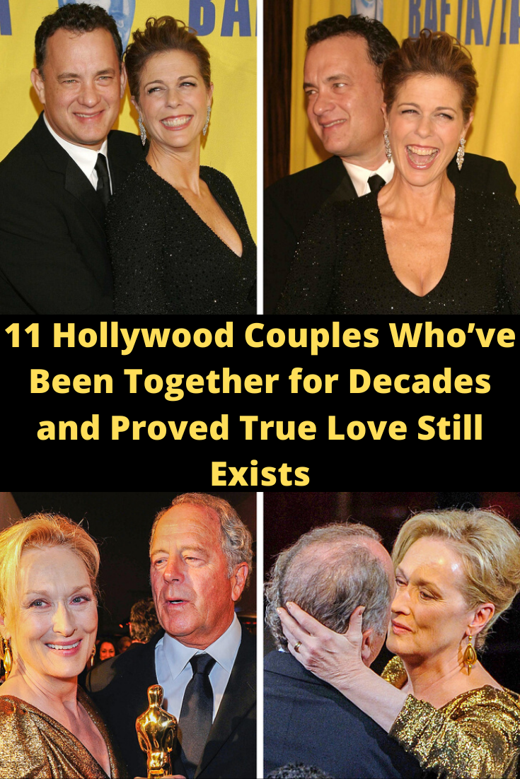 11 Hollywood Couples Whove Been Together for Decades and