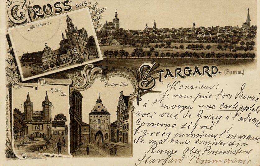 Gruss aus Stargard im Pommern