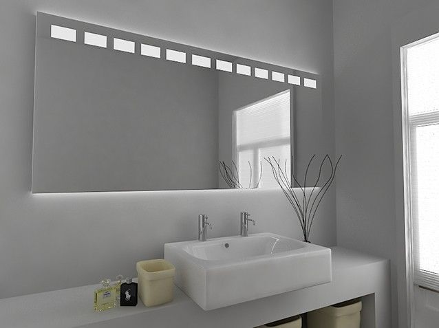 With Sensor Demister Pad And Shaver Socket Callaled Illuminated Bathroom Mirror Functionalityinfra Red Sensor Bathroom Mirror Large Bathroom Mirrors Mirror
