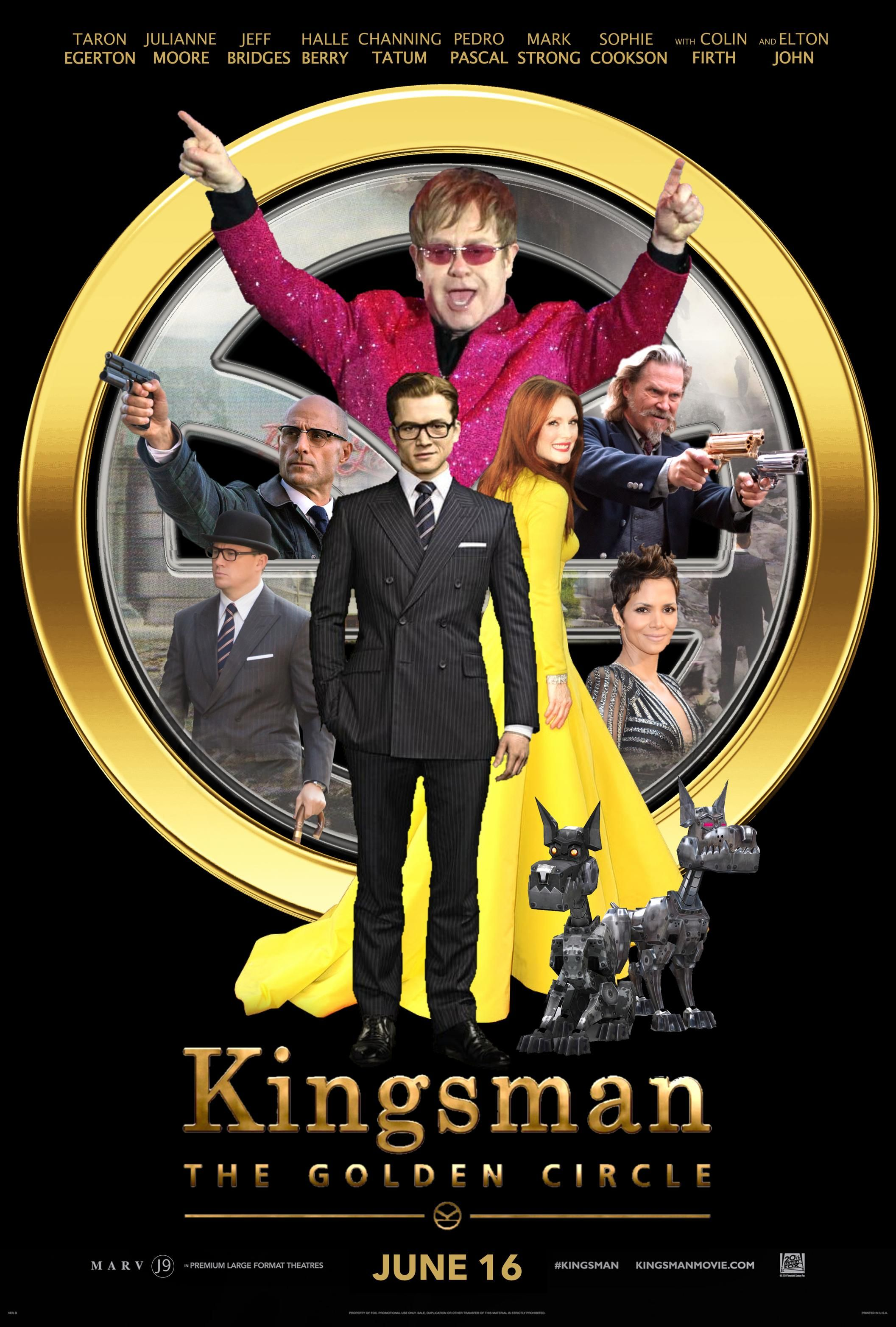 Kingsmen The Golden Circle 2017 2 Kingsman Kingsman The Golden Circle Best Action Movies