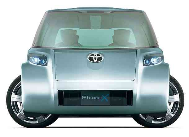 Toyota Fine T Fine X Review Hydrogencarsnow Transportation