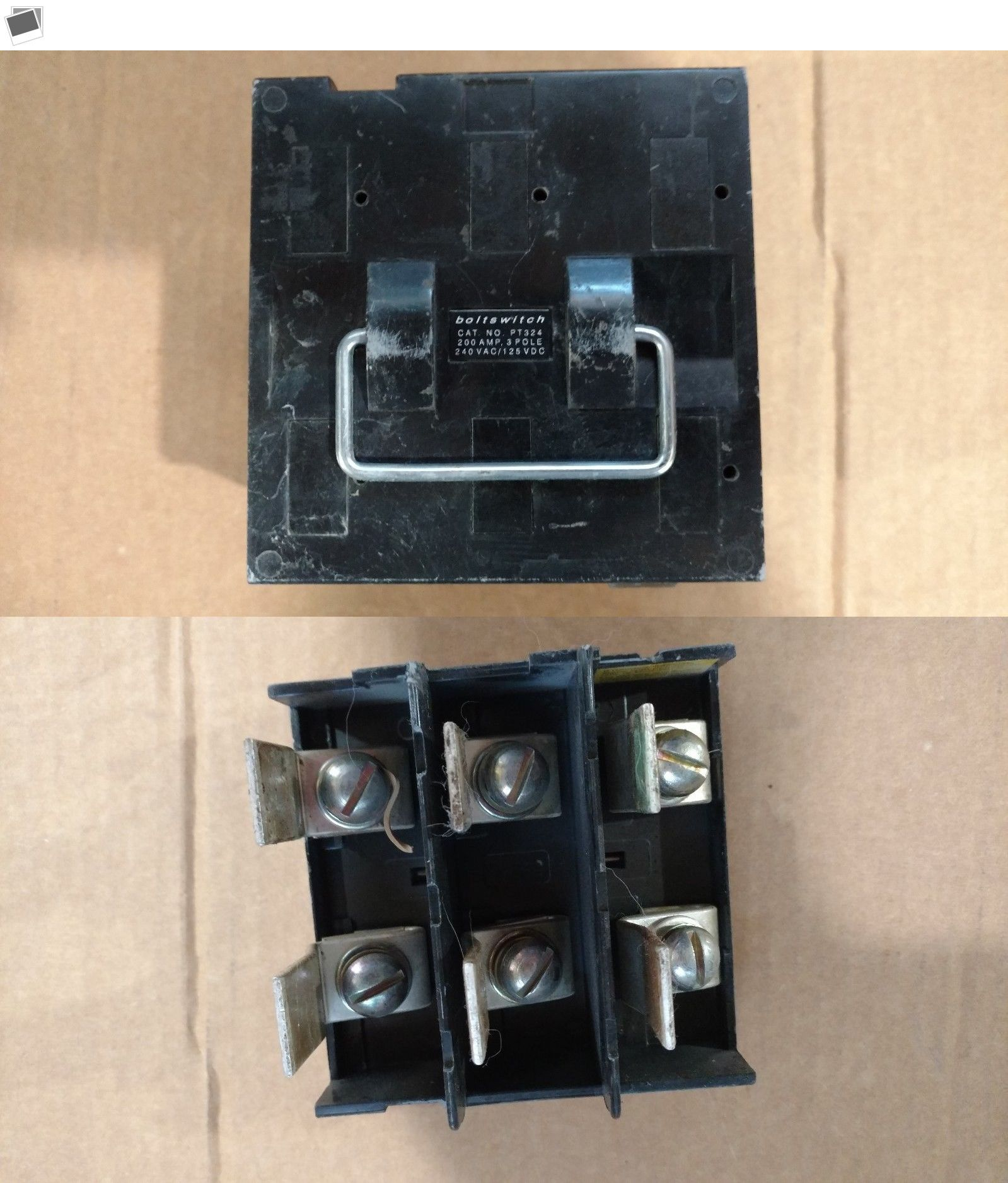 Circuit Breakers And Fuse Boxes 20596 Boltswitch Pt324 Fusable Pull Out Pullout Section Only Free Shipping Buy It Now Onl Fuse Box Stuff To Buy Fuses