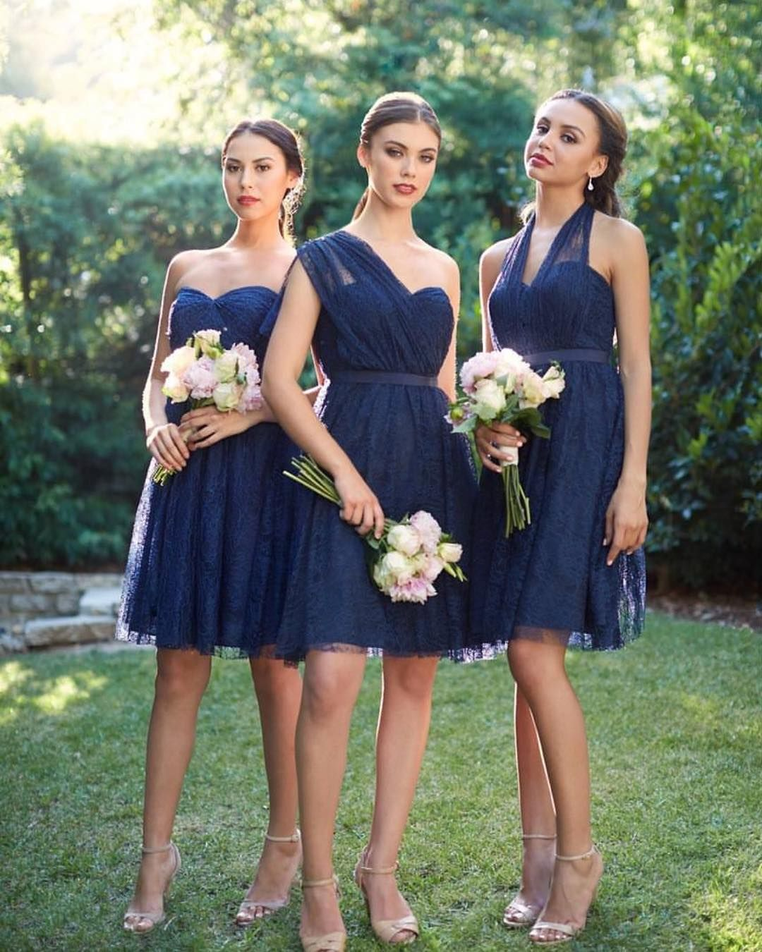 How many ways can you style the convertible lace jennyyoonyc something blue for your bridesmaids rent the convertible lace jenny yoo aster bridesmaid dress at vow to be chic ombrellifo Gallery