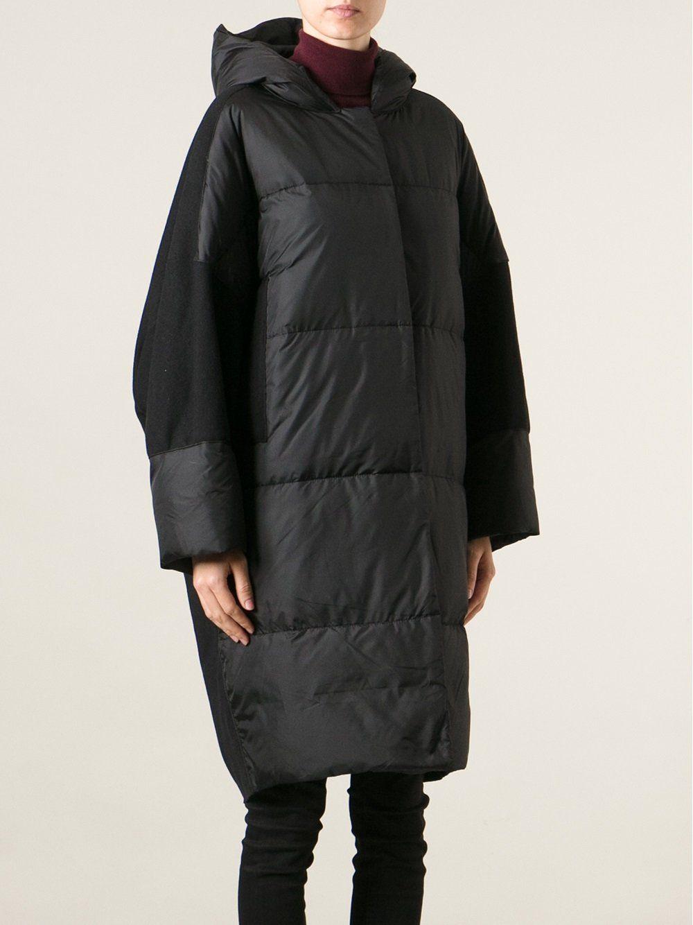 de06c5c2425b Hache дутое пальто с капюшоном パファー・ジャケット, カジュアルドレス, 秋の服装 レディース