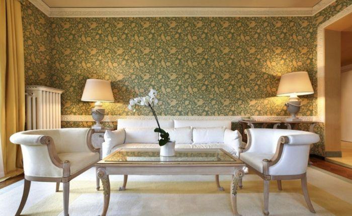 Attraktiv Aristokratische Wohnzimmer Gestaltung Designer Tapeten