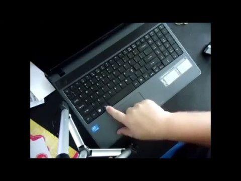 factory default acer laptop