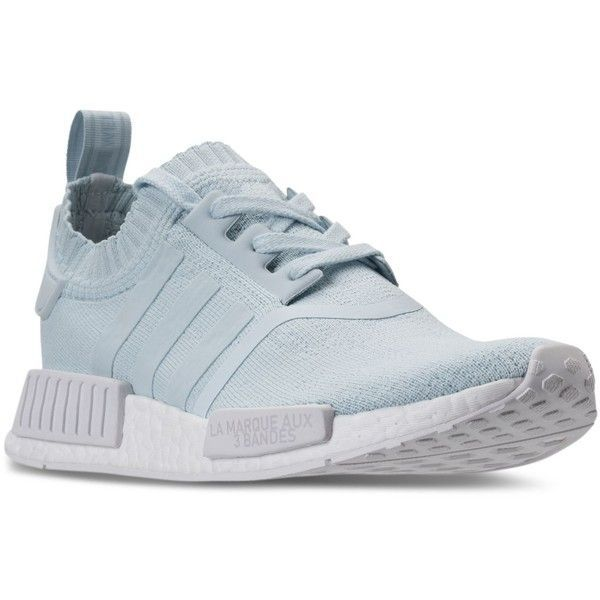 adidas Womens Nmd R1 Primeknit Casual Sneakers from Finish Line ( 170) ❤  liked on a45053df5