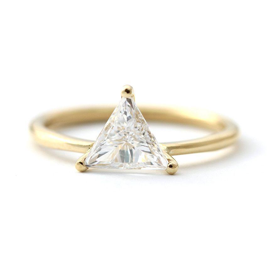 Ring Triangle Diamond