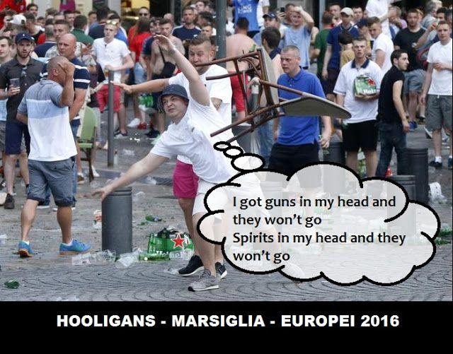 Bolabooks: EUROPEI 2016 - HOOLIGANS