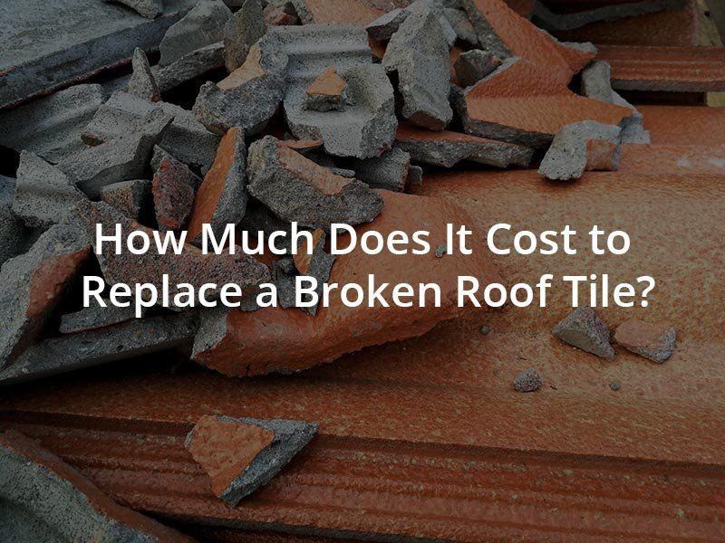How Much To Replace A Slipped Roof Tile In 2020 Roof Tiles Roof Tile Repair
