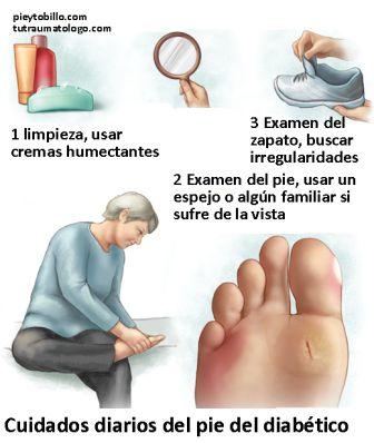 cuidado de los pies para diabetes folleto en español