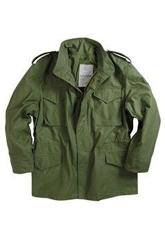 Alpha Mens M 65 Field Coat Military Field Jacket M65 Field Jacket Field Coat