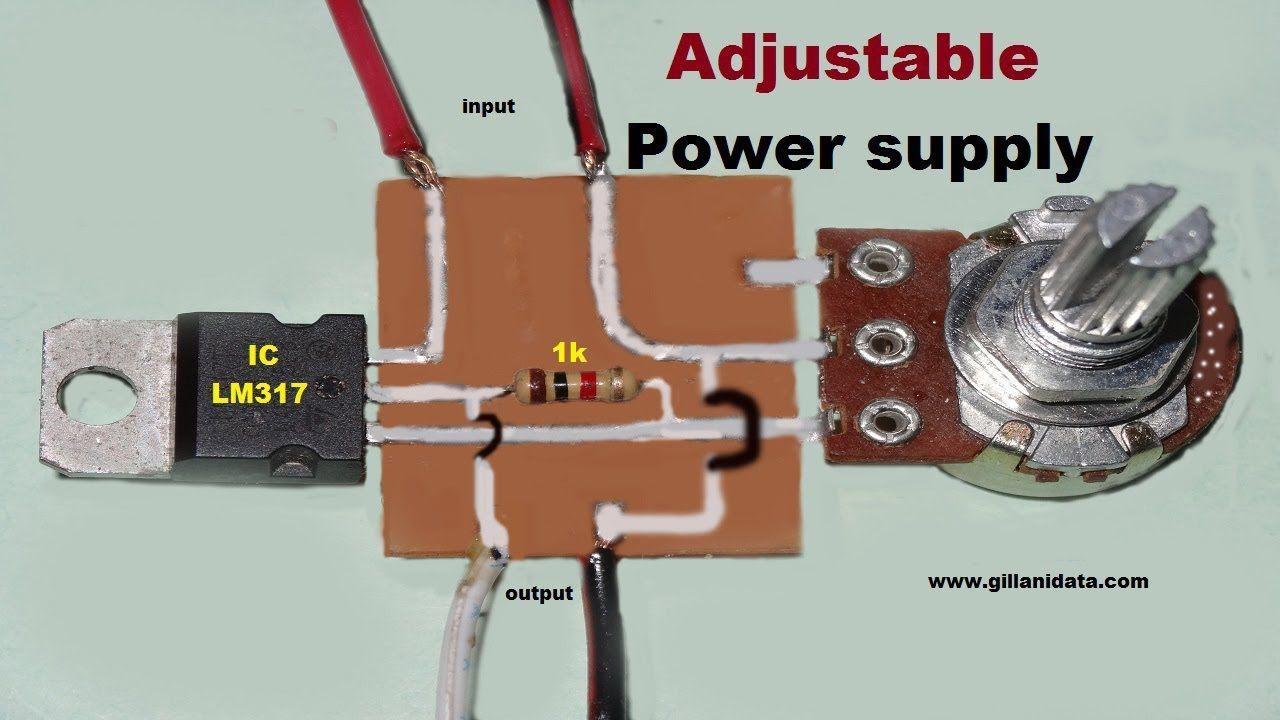 Adjustable Dc Voltage Regulator  With Images