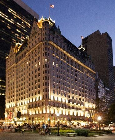 The Plaza Hotel In Nyc Had A Room Overlooking Central Park