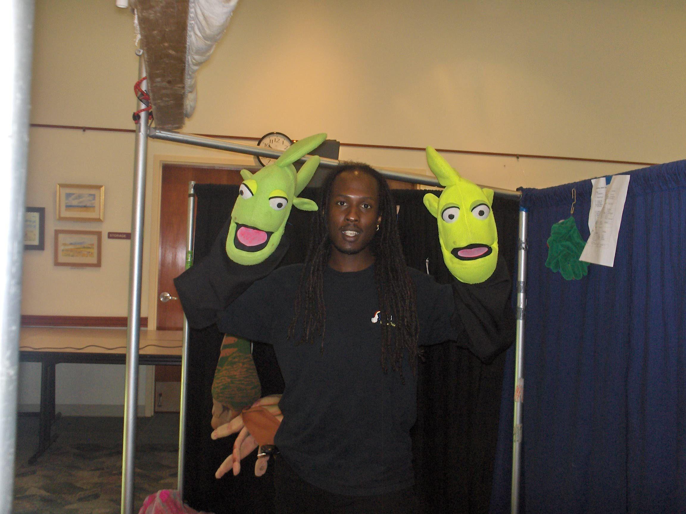 Fish puppets tlc puppets pinny