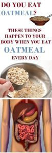 These Things Happen To Your Body When You Eat Oatmeal Every Day…..  #lifestyle  #fitness