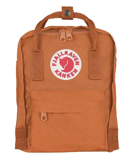 9924c9f21 Fjallraven Kanken Original Mini 7L Backpack - 23561- 164 Brick ...
