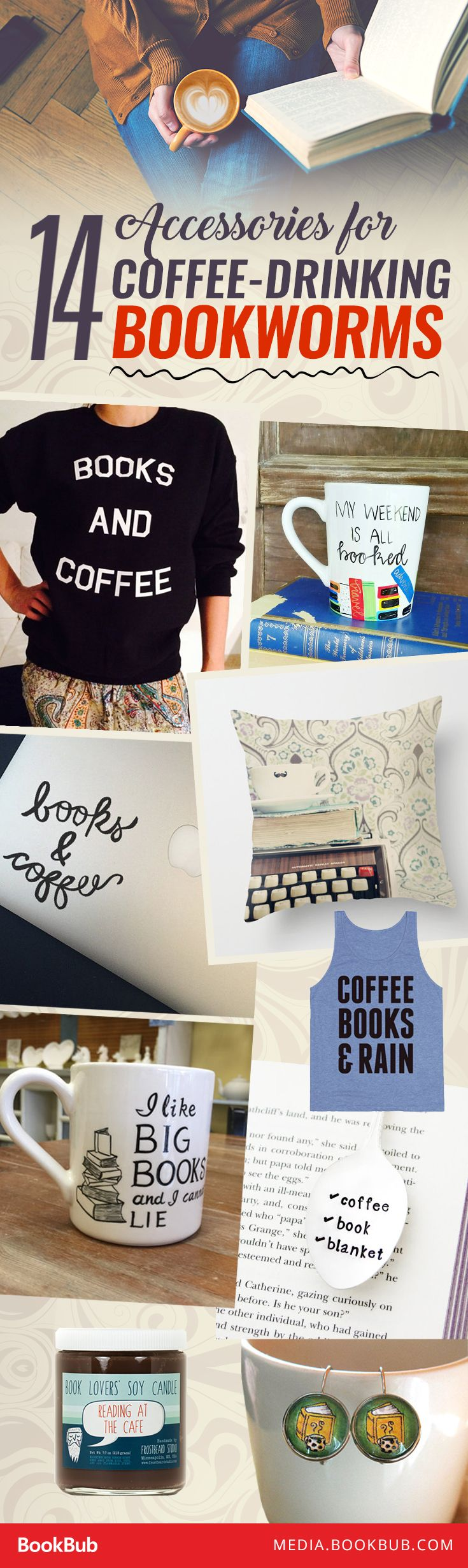 14 accessories every coffee drinking bookworm needs to see b o o k s pinterest books book. Black Bedroom Furniture Sets. Home Design Ideas