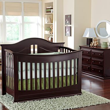 Lovely Baby Furniture Set   Espresso   Jcpenney OUR CRIB AND