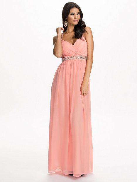 dbc7ae0db2b5 Embellishment Maxi Dress - Nly Eve - Rosa - Festklänningar - Kläder - Kvinna  - Nelly