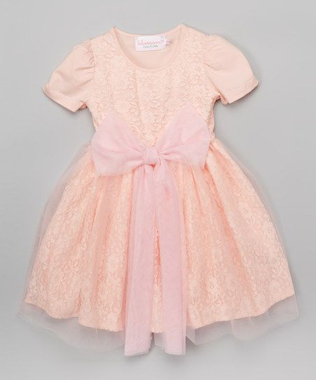 Blossom Couture Pink Lace Dress - Infant, Toddler & Girls | zulily