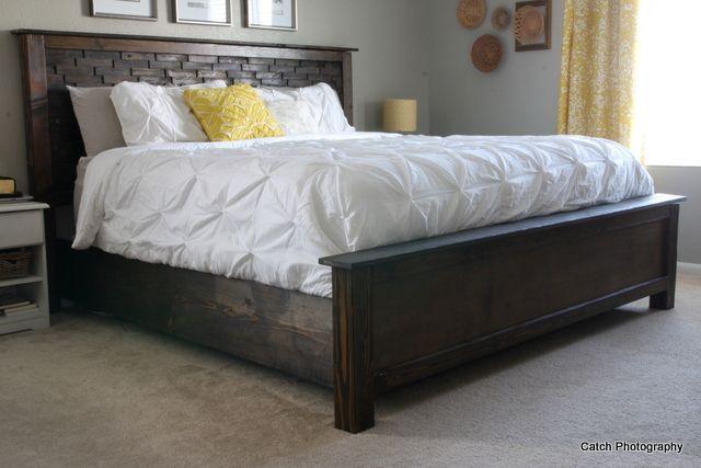 Best Wood Shim Cassidy Bed Queen Diy Bed Frame Diy Bed Diy Furniture Plans 640 x 480