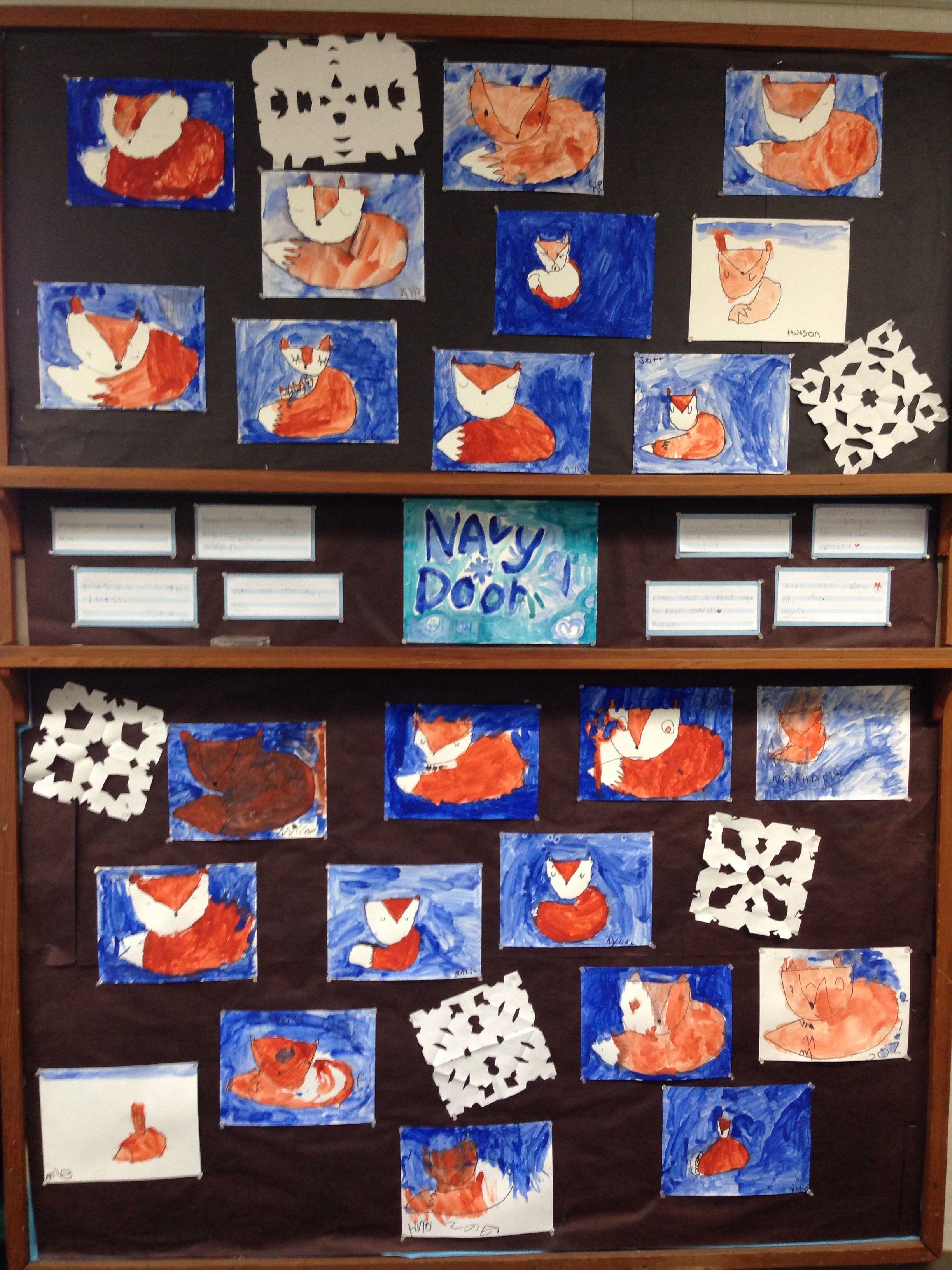36 year olds foxes preschool art kids art projects