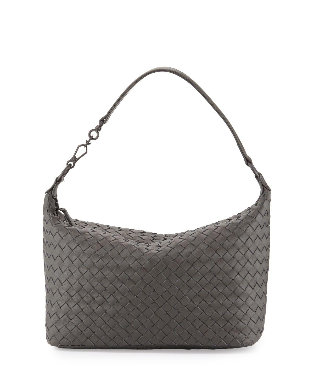 de88d5ac9072 Small Intrecciato Shoulder Bag