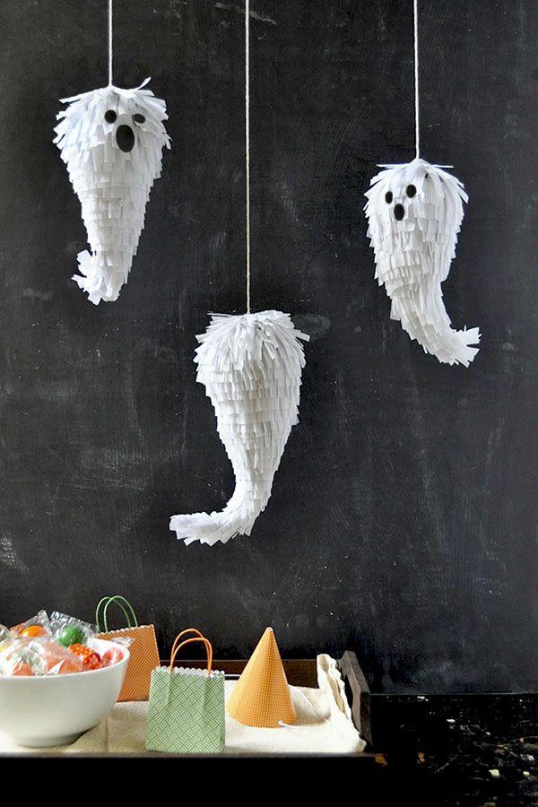 Mini Ghost DIY Halloween Fun Stuff Pinterest Minis, Holidays - how to make homemade halloween decorations