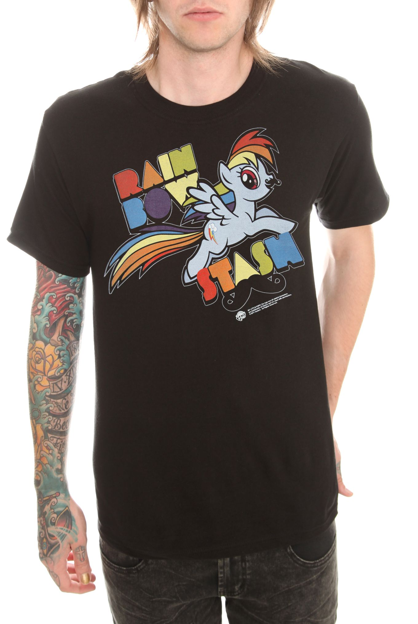 Little Pony Rainbow Stash T-shirt Hot Topic Lizzie