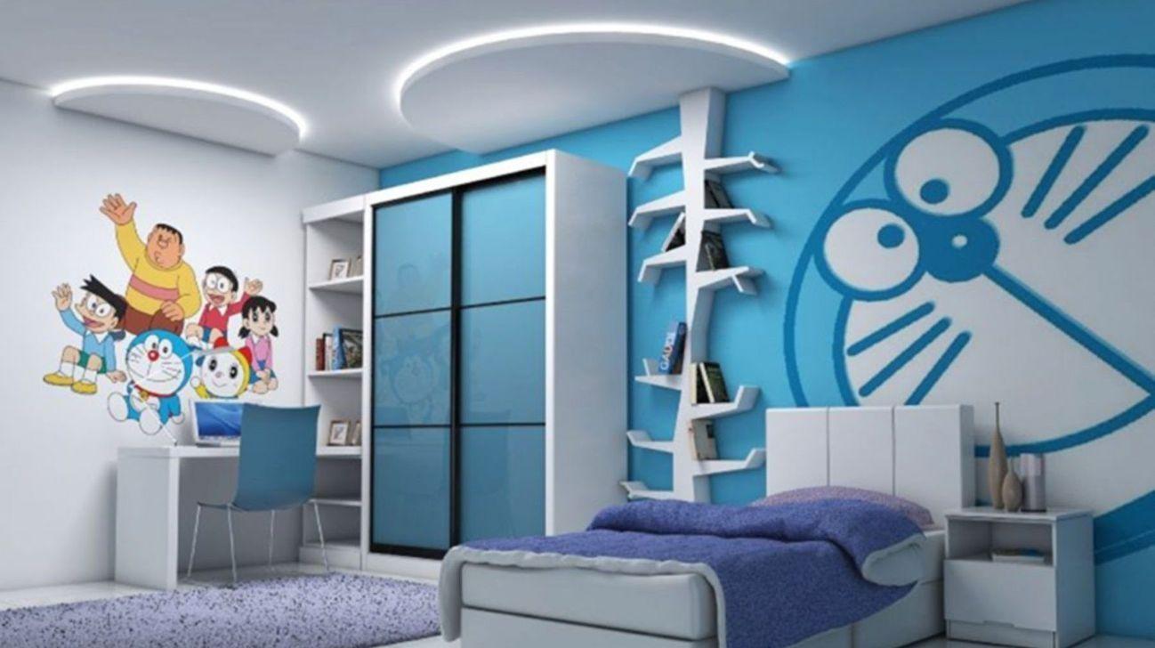 40 Attractive Kids Bedroom Design Ideas With Doraemon Themes Kids Bedroom Designs Kids Bedroom Design Bedroom Design