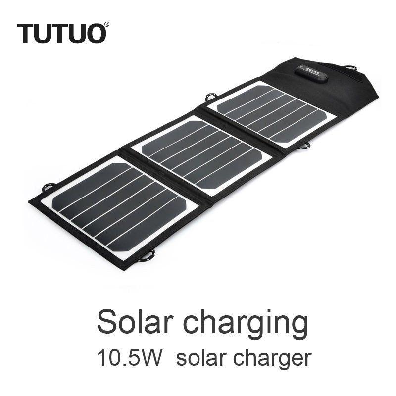 Carregador Solar Gps/Tablet/Celular 10.5W