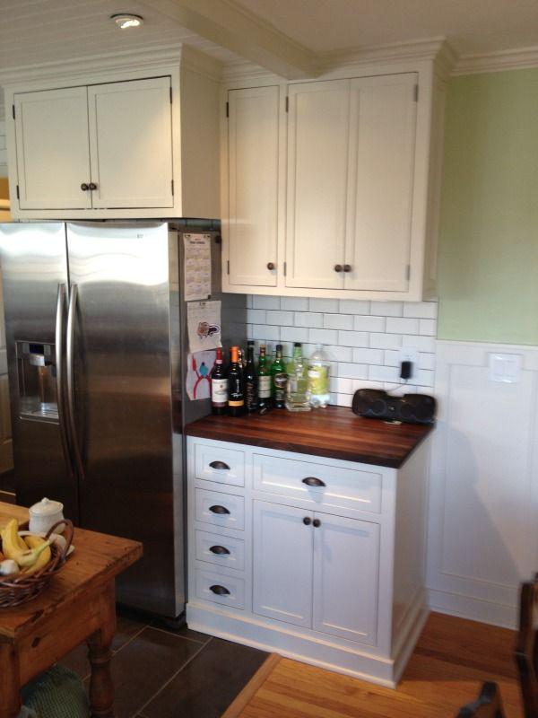 Cabinet Base Better Than The Toe Kick Wood Countertops Kitchen Kitchen Inspirations Kitchen Remodel
