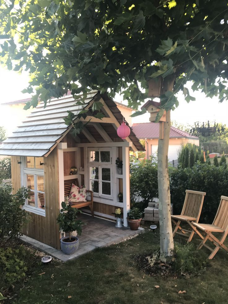 Ecke Ecke The Post Ecke Appeared First On Pallet Ideas Backyard Sheds Garden Shed Diy Shed Landscaping