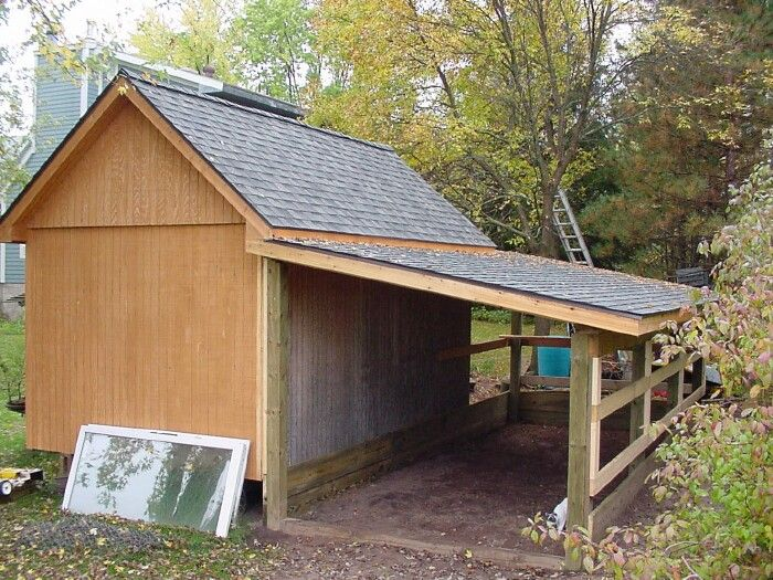 Pole barn girts google search shop and garage for Garage with lean to