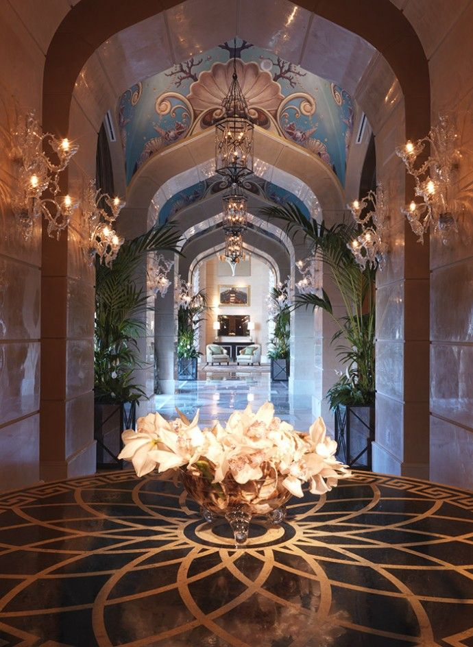 Bridge Suite Corridor At Atlantis The Palm Dubai United Arab
