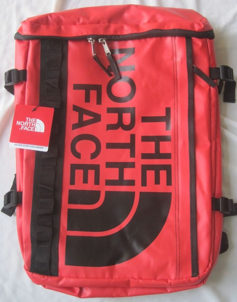 The North Face Base Camp Fuse Box Red backpack - Japan exclusive model 59feaabef243