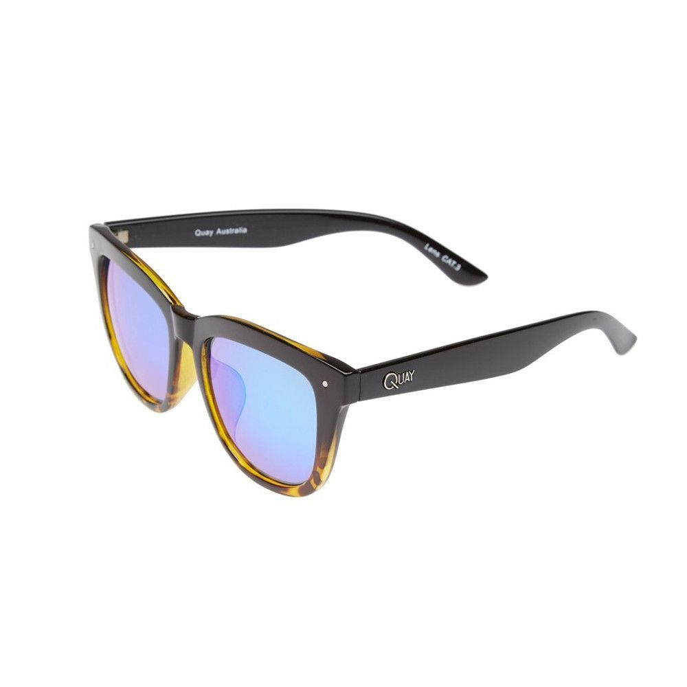 fd4e36faca Iridescent lenses and two-tone frames make these oversized sunglasses a  bold