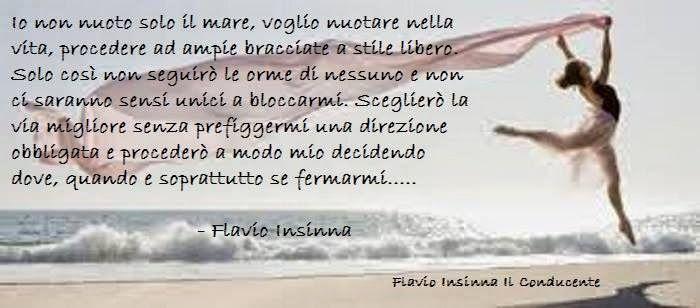 Flavio Insinna Il Conducente: Io non nuoto solo il mare...