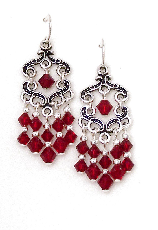 03 04 776 red crystal chandelier earrings fancy keepsake 03 04 776 red crystal chandelier earrings fancy keepsake aloadofball Choice Image