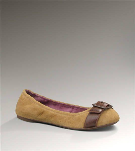 Ugg Kellis 1000598 Chestnut Ballet Flats http://www.salesnowboots.com/