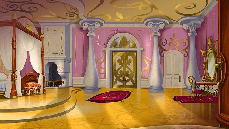 Princesita Sofía Diversión De Gala Disney Junior Latam Fondos De Escenarios Fondo Animación Fondos De Casas