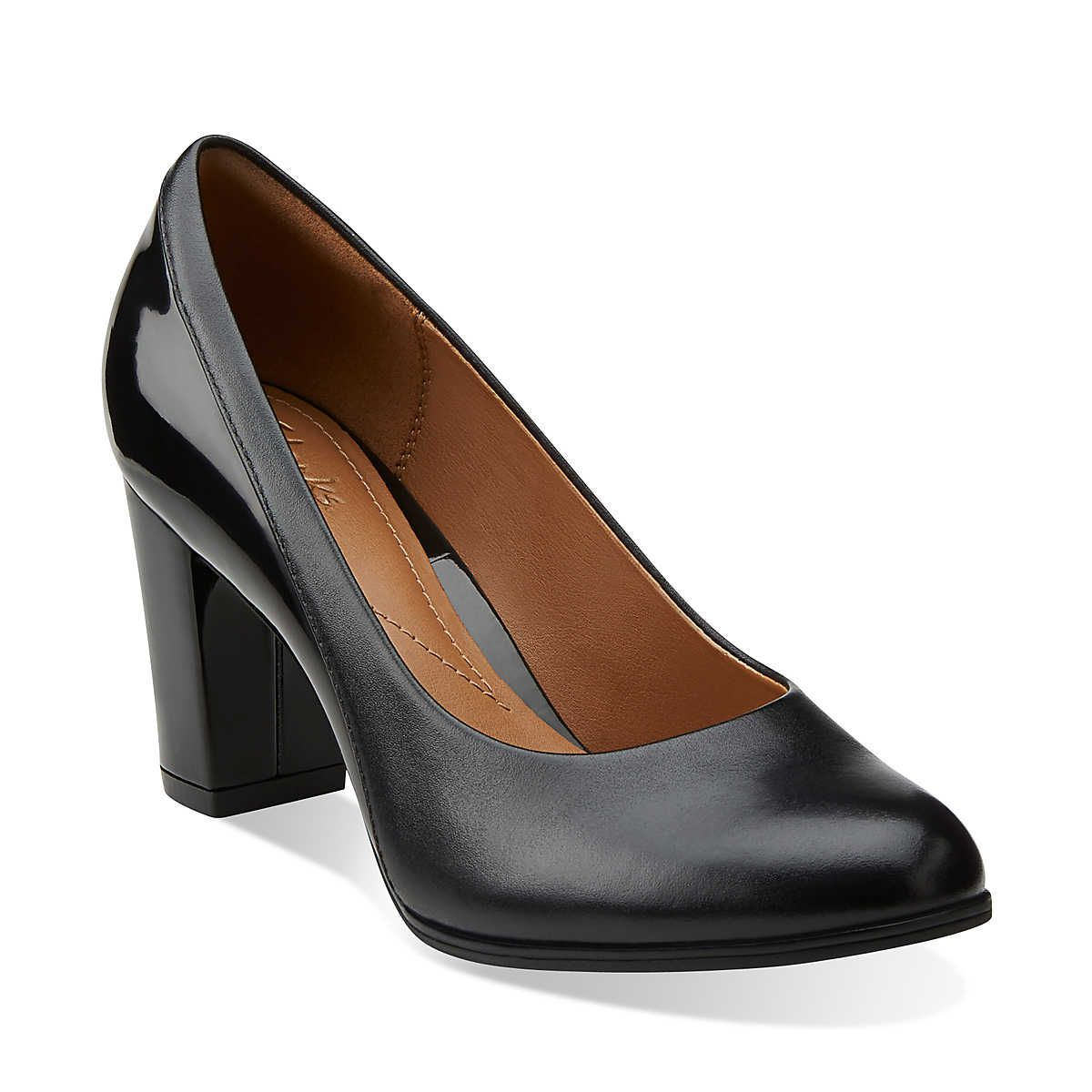 Clarks Basil Auburn High Heels Color: Black