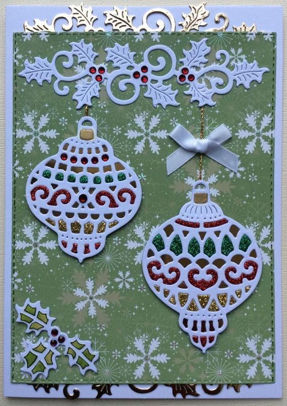 Christmas Lanterns Metal Cutting Dies For Scrapbooking Die Cuts Diy