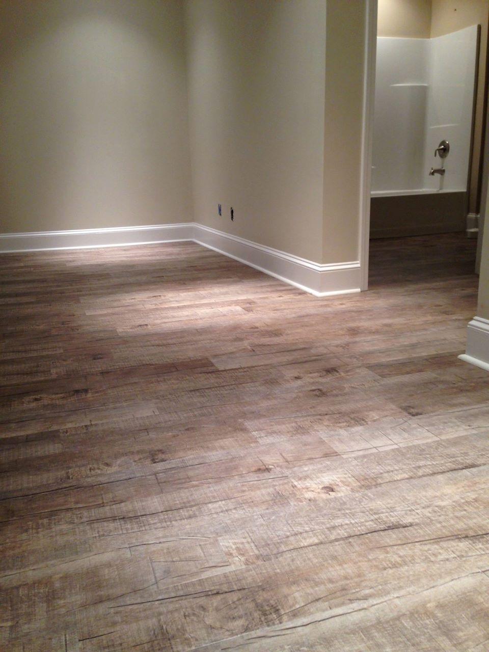 Barnwood Gray Fusion Hybrid Flooring
